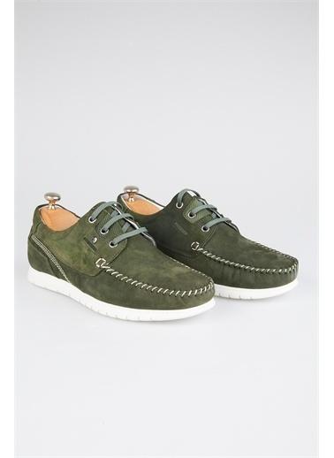 Tripy Hakiki Deri Ayakkabı Yeşil